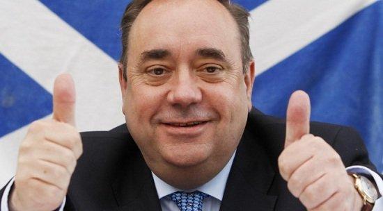 Alex Salmond Skócia nemzeti érzelmű miniszterelnök
