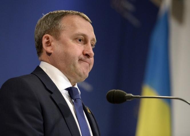 Andrij Descsicja ügyvivő ukrán külügyminiszter
