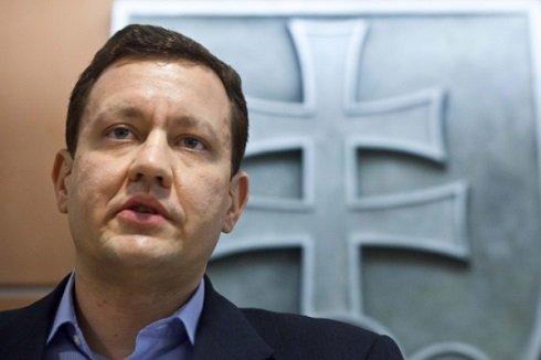 Daniel Lipšic belügyminiszter - Fotó: Sita