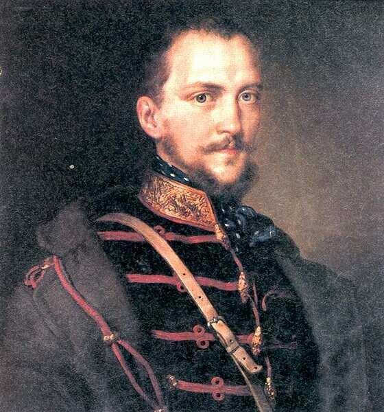 Görgői és toporci Görgey Artúr- Barabás Miklós festménye.