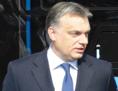 Az új buszok ünnepélyes átadásán beszédet mondott Orbán Viktor miniszterelnök