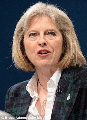 Theresa May - belügyminiszter