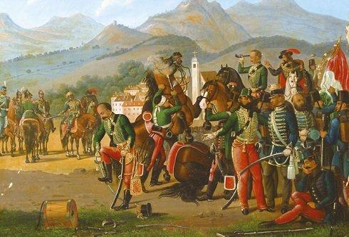1849. augusztus 13.- A világosi fegyverletétel