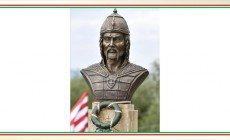 Atilla-szobor és emlékhely átadása Dunakeszin
