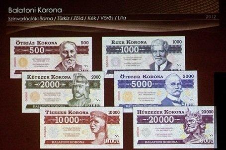 Nem kell nekünk euró – itt a Balatoni Korona