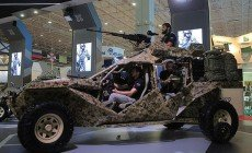 Groznijban bemutatta a Specnaz az új harci járművét