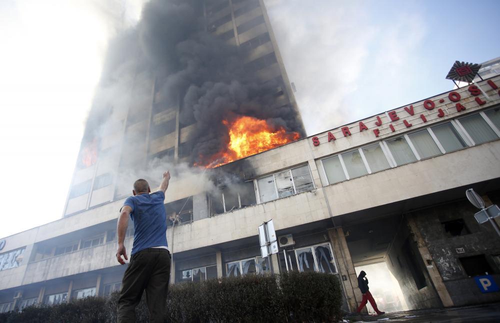 bosznia-zavargás