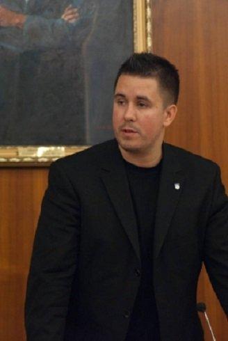 Czeglédy Csaba, a szombathelyi önkormányzat szocialista frakcióvezetője - Fotó: Westindex