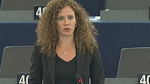 Sophie in 't Veld holland liberális képviselő.