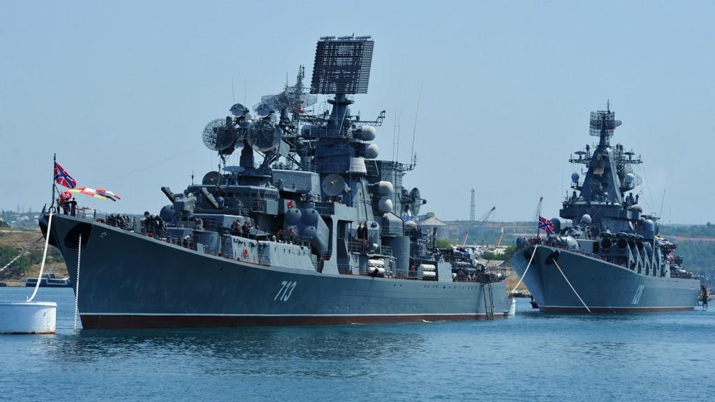 Teljes harckészültségben a Fekete-tengeri Flotta.