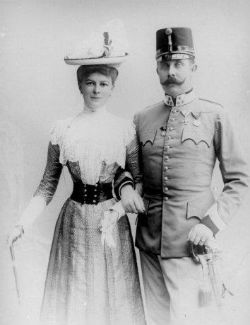 Ferenc Ferdinánd és felesége