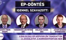 Semmirevaló hazaárulók az EP-ben