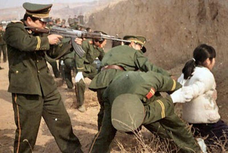 Titkos felvétel: politikai elítélt kivégzése Kínában