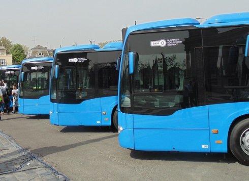 150 vadonatúj Mercedes Citaro 2 típusú busz közlekedik májustól a főváros útjain