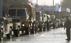 Átlépte a német-lengyel határt az amerikai katonai konvoj