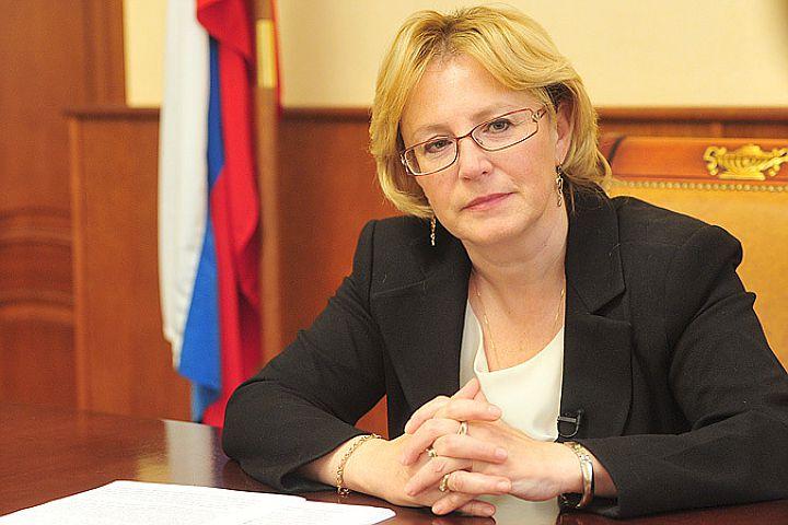 Veronyika Szkvorcova orosz egészségügyi miniszter