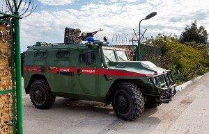 Szíria: Orosz katonai rendőrség ellenőrzi Damaszkusz déli részét