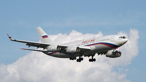 Orosz elnöki gép.