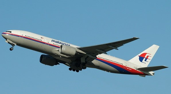Maláj Boeing-777-es.