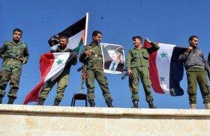 A szír kormányerők felszabadították Damaszkuszt