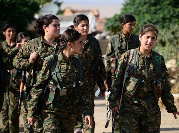 Kurd harcosnők.
