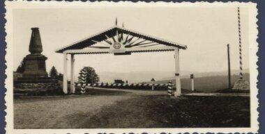 Magyar-lengyel közös határ 1939-ben, a Vereckei-hágón