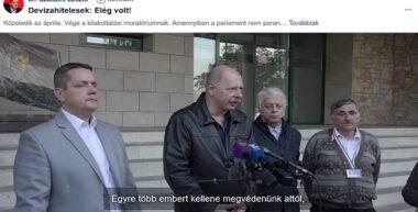 Az MSZP kampánycélra használja a devizahitelesek kilakoltatásait