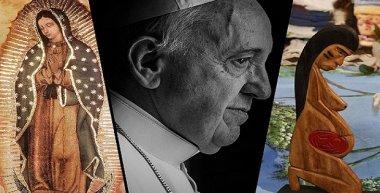 """Katolikus hívők ellopták a pápa """"pogány"""" termékenységi szobrait, és a folyóba dobták őket (VIDEÓ)"""
